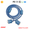 ADSON SVGA VGA 15 pin monitor extension cable male-female PC to screen