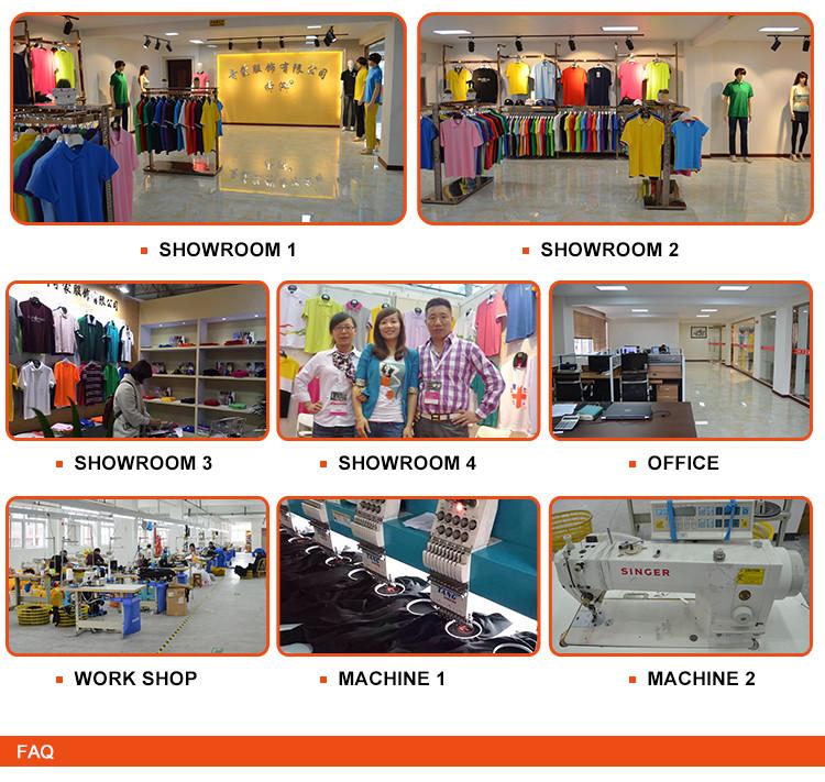 Modern Style Cartoon Pattern Gold China Supplier Polo T Shirts Men