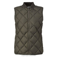 RYH651 High Collar Down Feather Cheap Waistcoat Mens Winter Vest