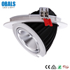Round Dimmable 20W 28W 38W 48W Adjustable Elephant Trunk Light COB LED Downlight