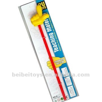 Finger Pointing Stick, Cartoon Pointer, PU Toy, Teaching Material