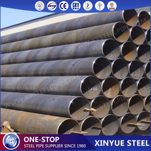 New API 5L Gr. B SSAW / LSAW Carbon Steel For Stock