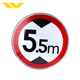 Reflective warning PVC oem service images logo road traffic signs
