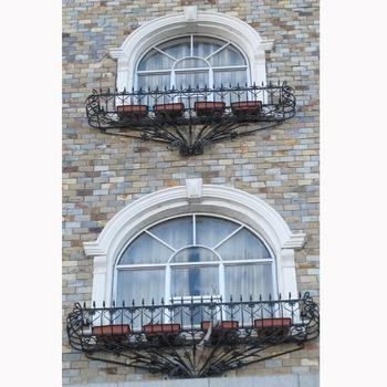 Decorative Wrought Iron Window Security Bars Design