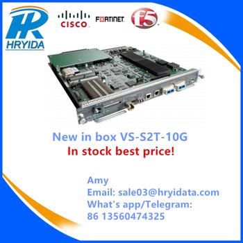 New In Box Cisco 6000 Chassis Supervisor Vs-s2t-10g In Stock Best Price!! -  Buy Vs-s2t-10g,Catalyst 6500 Supervisor,Cisco Supervisor Engine 2t Product