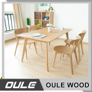 Natural Color Study Table Long Narrow Solid Wood Table Office - Narrow conference table