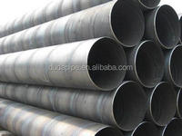 Brand new spiral seam submerged arc welded carbon steel pipe with high quality