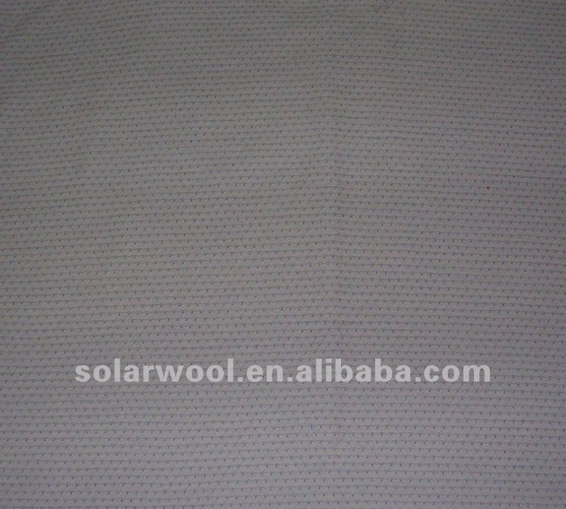 Merino wool/nylon mesh fabric