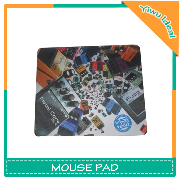 Heat Transfer Print Soft Gaming Neoprene Mouse Mat