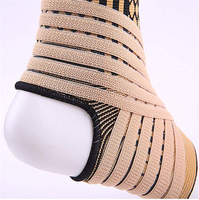 High Elastic Bandage Compression Knitting Sports Basketball Soccer Ankle Support Brace