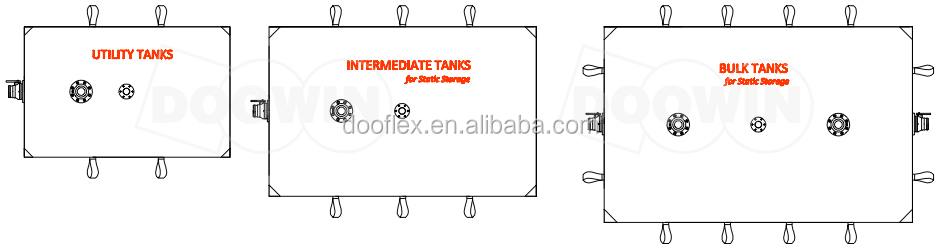 Water Storage Bladder Tank /pvc Pillow Water Storage Tank