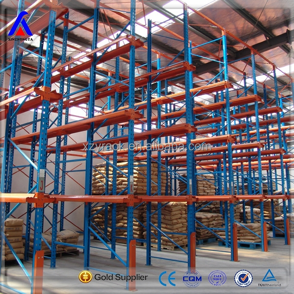 Warehouse Stacking Shelves Rack China Manufacturer Drive