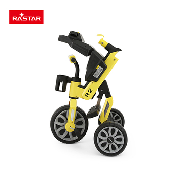 safe baby seat belt Rastar wholesale bike mother push child folding tricycle for kids
