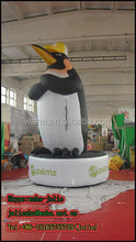 4m tall inflatable animal moscot Inflatable Penguin, inflatable cartoon