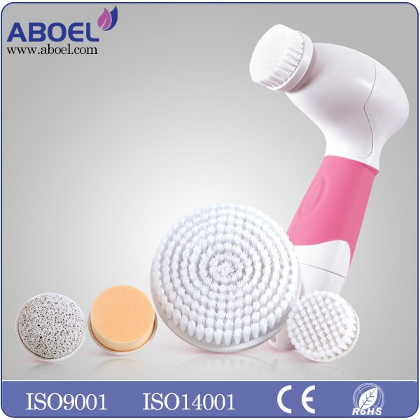FDA approved beauty products Facial Cleansing brush with replacement brush head for deep cleaning