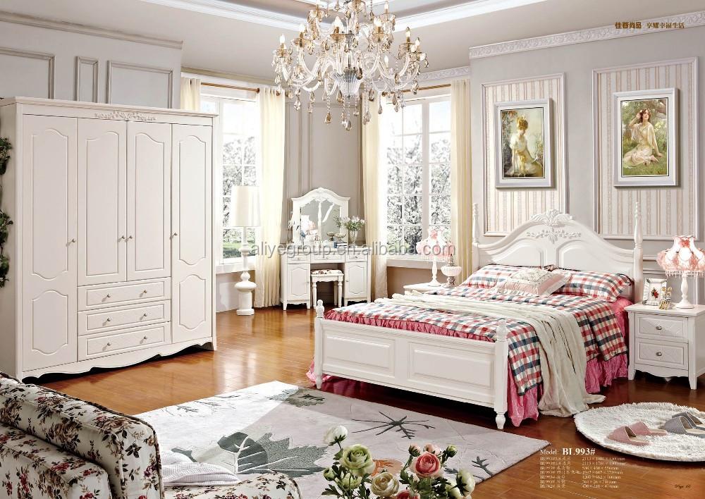 Villas Indian Wedding Furniture Bed Room Bedroom Set Mb04