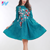 whole high quality fashion ladies sexy embroidered women vintage dress