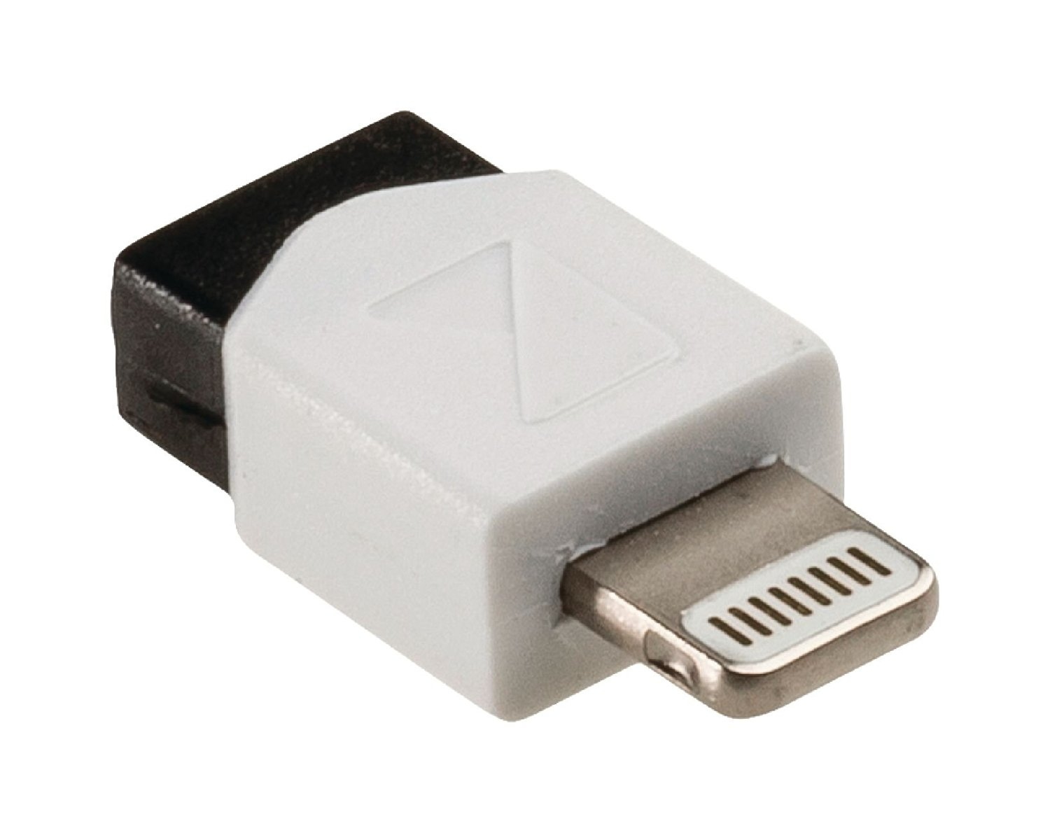 Konig Sync and charge adapter 8-pin Lightning male - USB 2.0 Micro B female 1 pc white [KNM39901W]