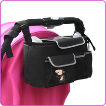 Wholesale Custom Portable Universal Oxford Baby Stroller Organizer Bag