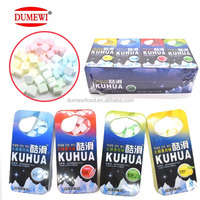 Assorted Fruit Flavor Hard Tablet Fresh Cool Air Paper Mint Candy