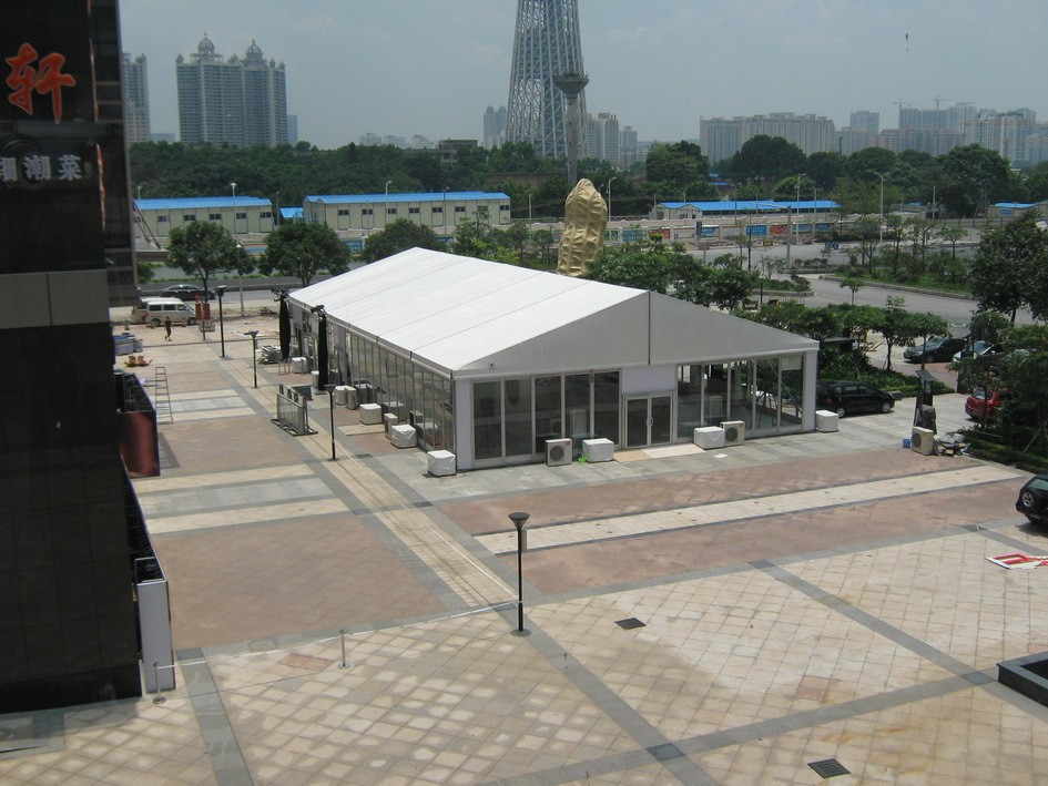 Heat Resistant Sound Proof Used White Party Tent For Sale
