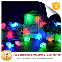 high performance colorful shoes shape led decoration light for wedding stage decoration