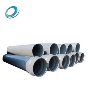 High Pressure Lightweight Customized 2 Inch PVC Pipes for Water Supply
