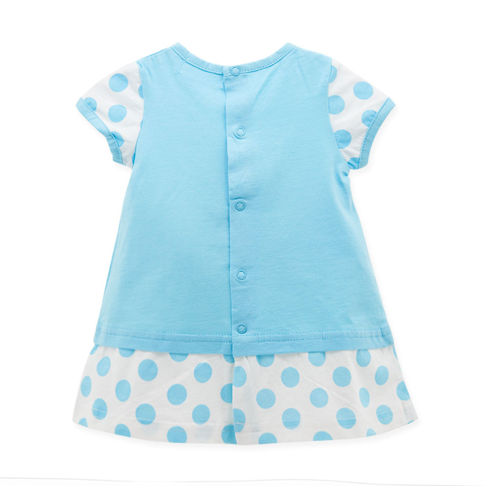 Baby Girl Clothes Summer Blue Color Infant Christening Gowns ...