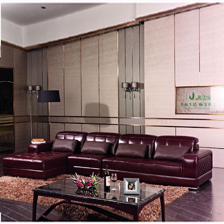 Furniture Germany Living Room Leather Sofa Bed Set Designs Modern L Shape