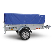 100% Waterproof 8x5 Utility PVC Canvas Fabric Cargo Trailer Cover Manufacturer