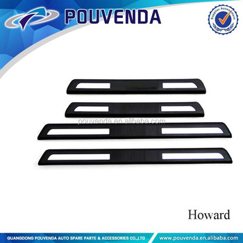 door sill plate for Volvo xc90 car accessories skid plate