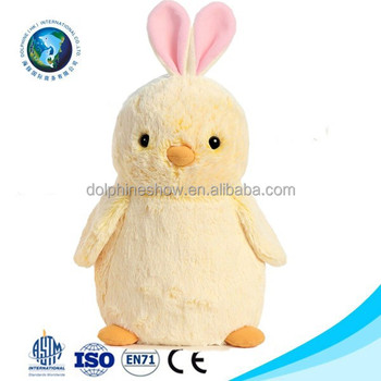 Meet En71easter Gift Chick Toy Custom Plush Easter Bunny Cute Yellow