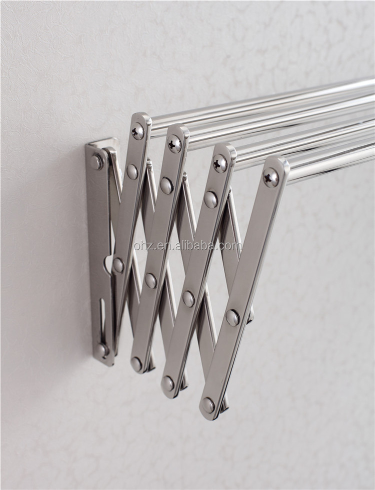 841 Stainless steel bathroom folding towel clothes hanger. 841 Stainless Steel Bathroom Folding Towel Clothes Hanger   Buy