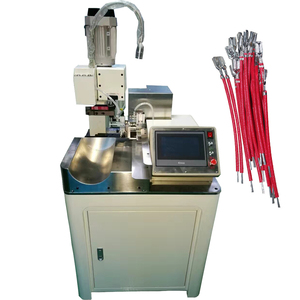 Brass cable lug copper terminal crimping machine fully automatic