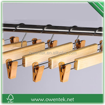 comfortable multi pants hangerswood clip of shirt hanger for sale