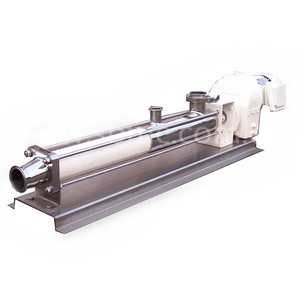 Pressure-stable Sanitary vegetable oil Screw Pump In The Food Products