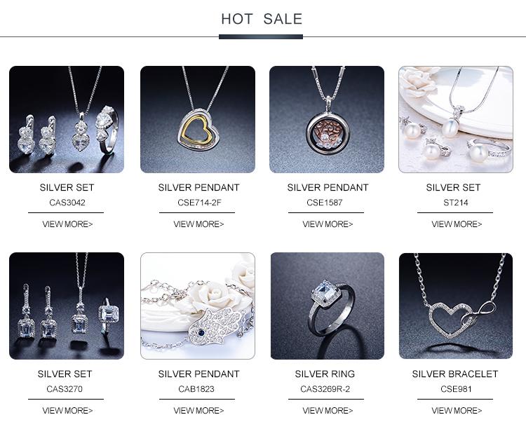 Baoyuan Single diamond Engagement Eternity 925 silver Rings CAR4749