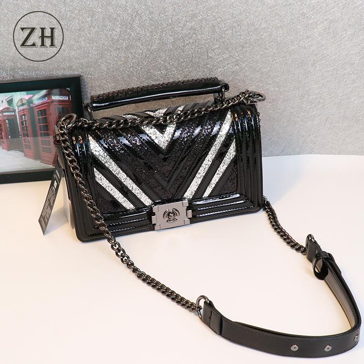 27d84f86ec760 2018 منتجات جديدة الأزياء حقيبة هدية محفظة سلسلة السيدات حمل المرأة حقيبة  الكتف حقيبة crossbody حقائب