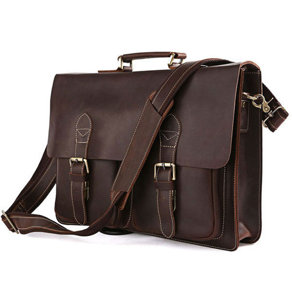 Cheap Mens Leather Briefcase Laptop Bag, find Mens Leather ...