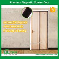 Magic Competitive Low Door Prices Magnetic Screen Door Mesh Curtain