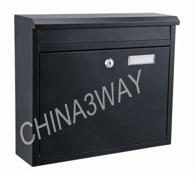 durable outdoor modern wrought iron stainless steel letter metal mailboxes for sale