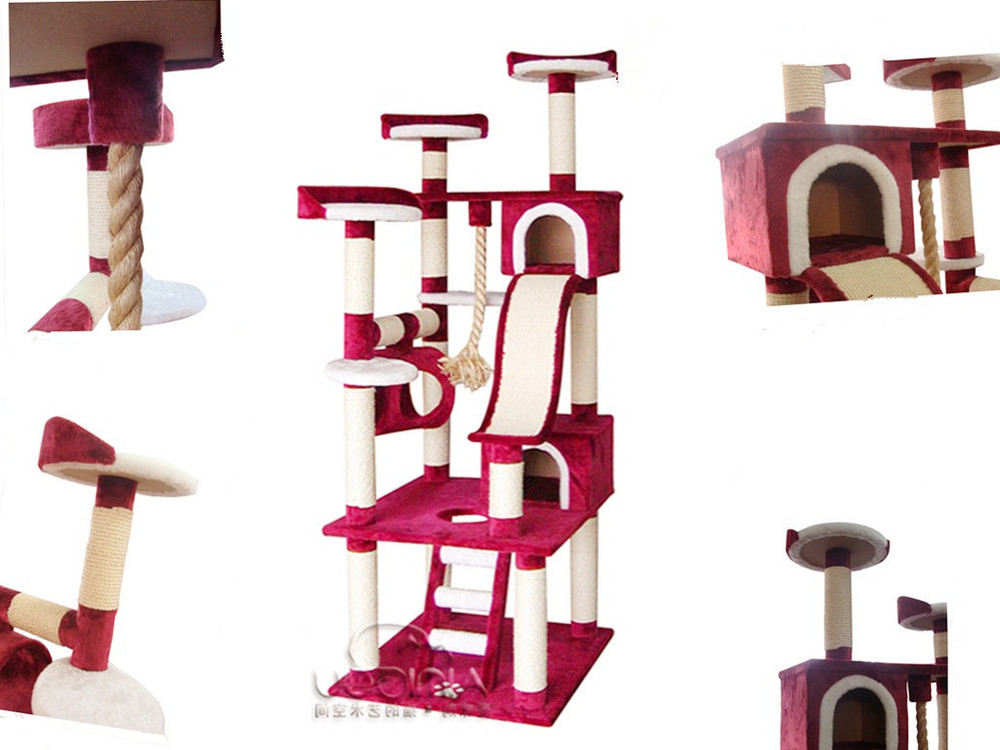 indoor cat tree house cat furniture for large cats diy cat tree buy diy cat tree cat. Black Bedroom Furniture Sets. Home Design Ideas