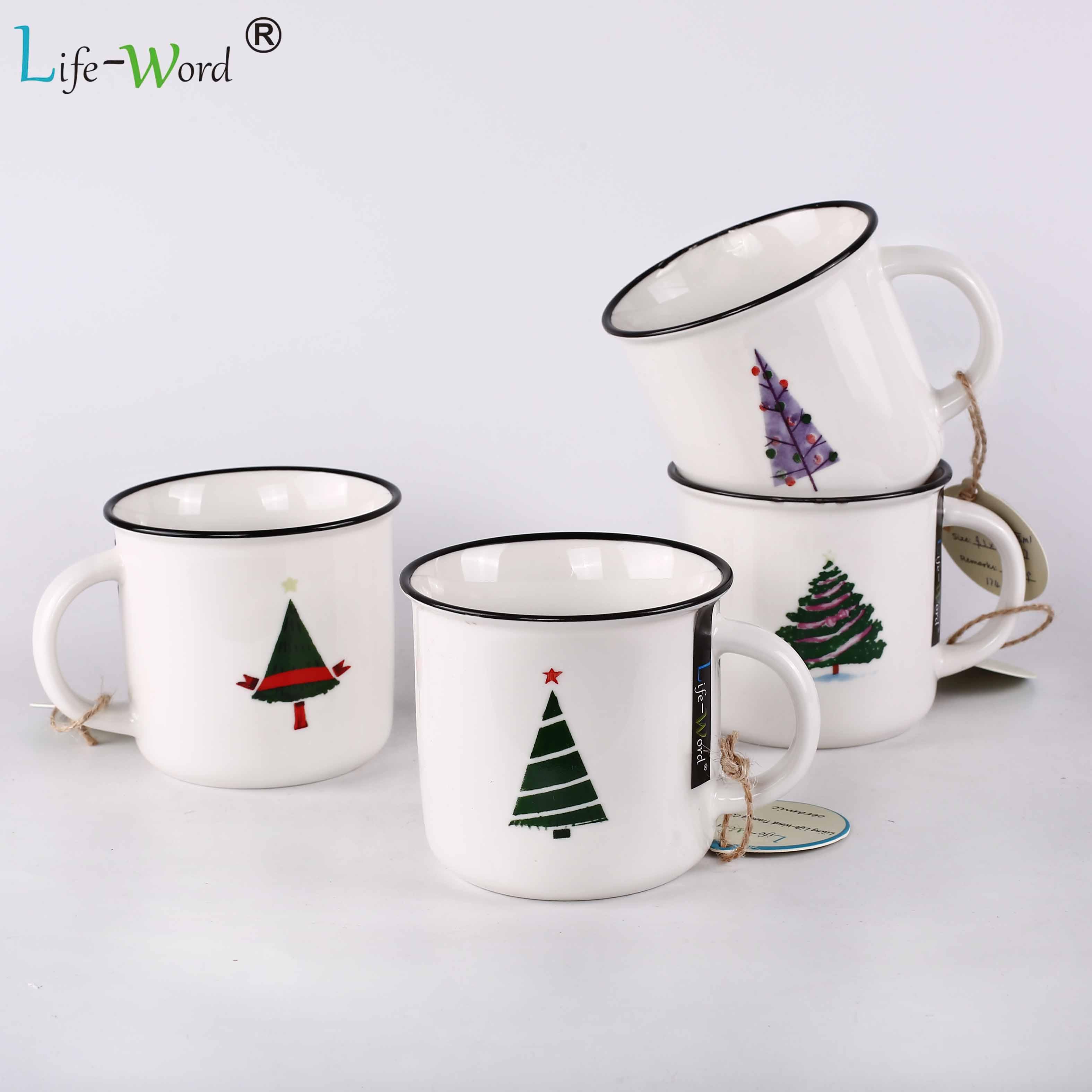 Customized Christmas Coffee Mugs