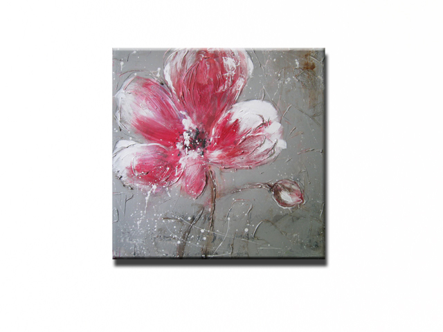NEW 100% hand-painted canvas oil painting high quality Household adornment art flower pictures Matching framework  DM-15071804