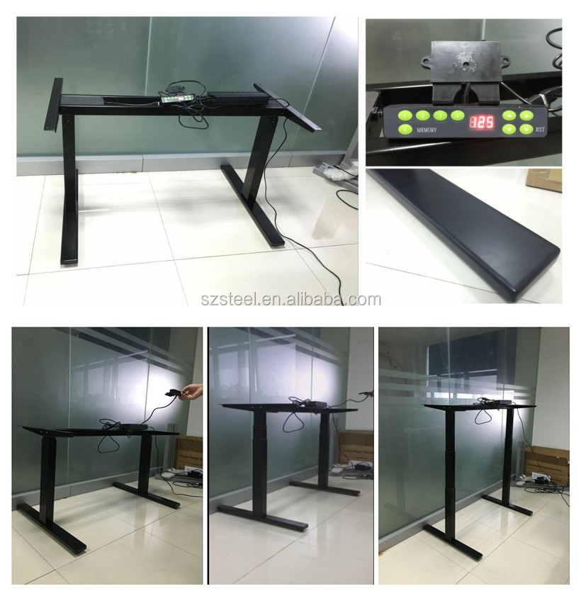 new type uplift desk motorized adjustable table sitstand adjustable table