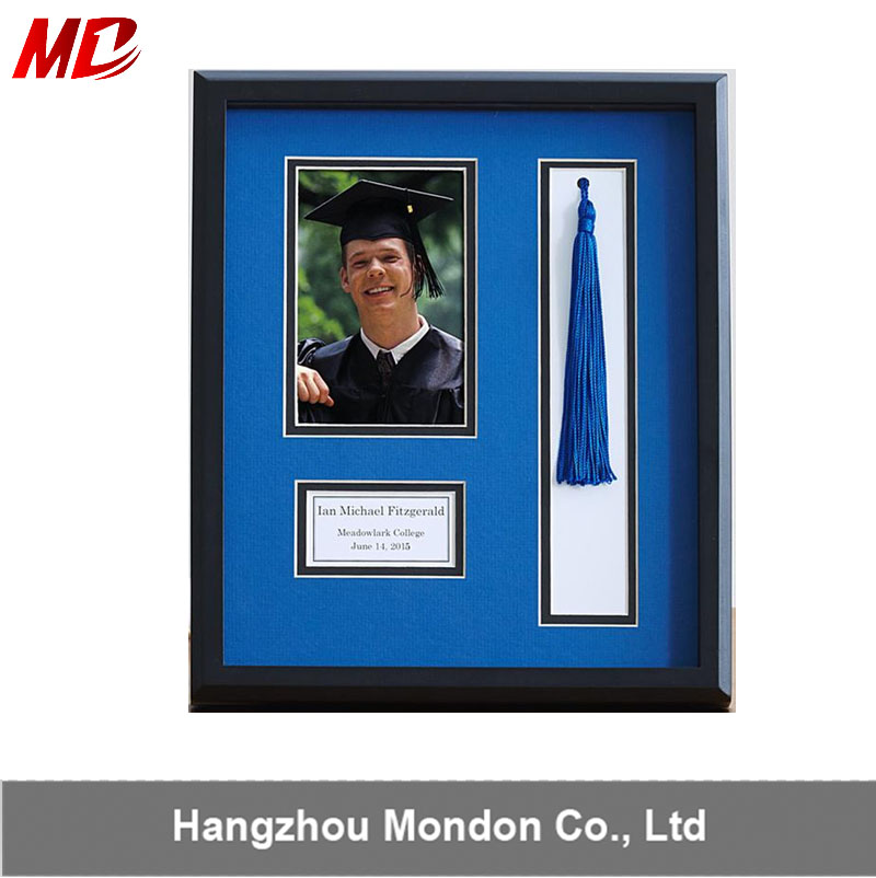 Wholesale for University Graduation Diploma Frame with photo,tassels