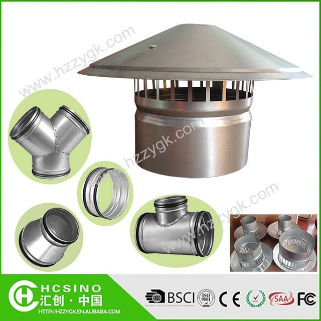 Roof Vent Cap Rainproof Roof Cowl for Kitchen Smoke Exhaust Ventilator  sc 1 st  Alibaba & roof exhaust cap-Source quality roof exhaust cap from Global roof ... memphite.com