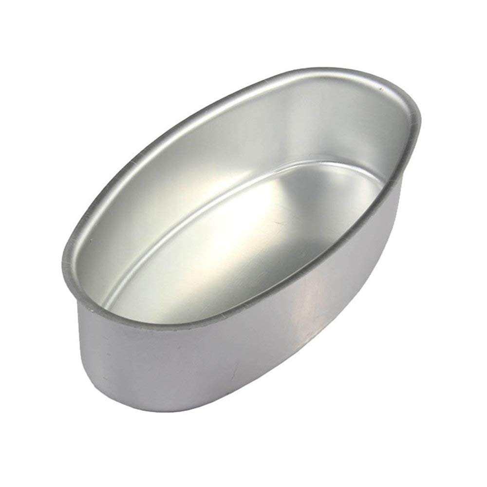 Dealglad Anodized Aluminum Alloy Oval Cheese Cake Pan Cheesecake Pudding Mold Toast Bakeware Baking Cake Mould