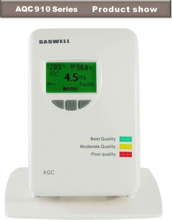 SASWELL Smart metope indoor air quality and VOC monitor