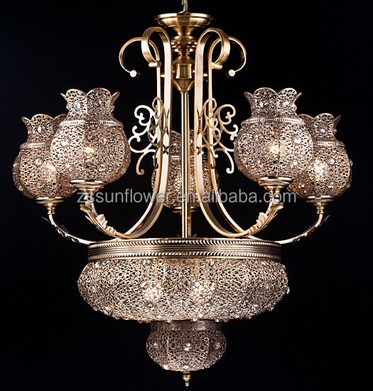 antique art lustre marocain avec cristal pour h tel lustre. Black Bedroom Furniture Sets. Home Design Ideas